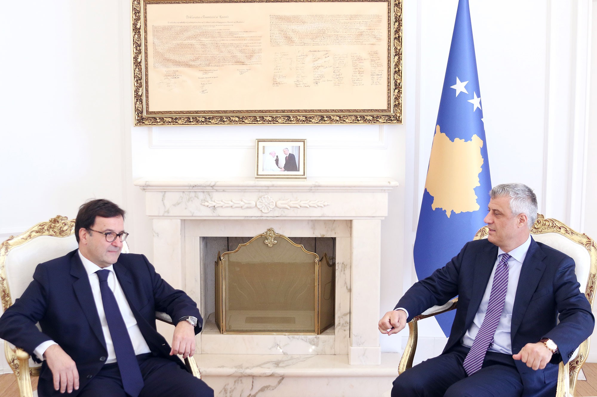 President Thaçi received the Economic Affairs Secretary at