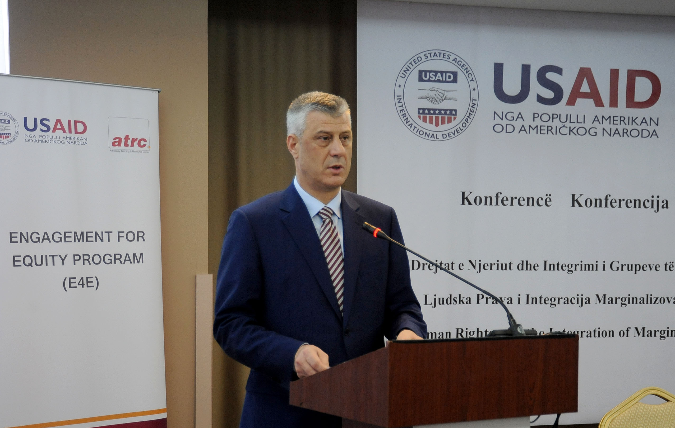 The President: The state of Kosovo is built on the values of human rights