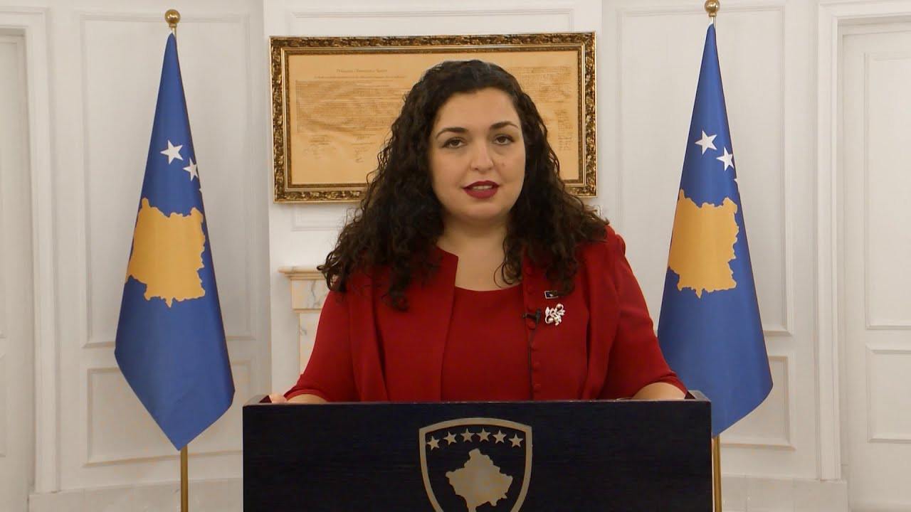 Address by the Acting President of the Republic of Kosovo, Dr. Vjosa Osmani  - Speeches - Acting President of the Republic of Kosovo - Dr. Vjosa Osmani