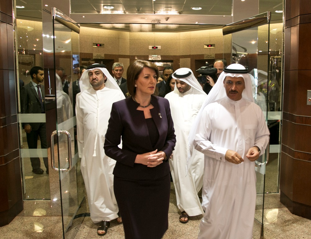 President Atifete Jahjaga reached the Economic Cooperation Agreement  between the Republic of Kosovo and the United Arab Emirates - News & Events  - President ...