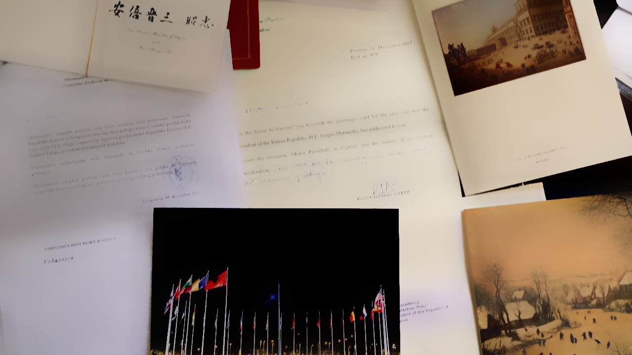 President Thai Accepts End Of The Year Greetings From Stoltenberg
