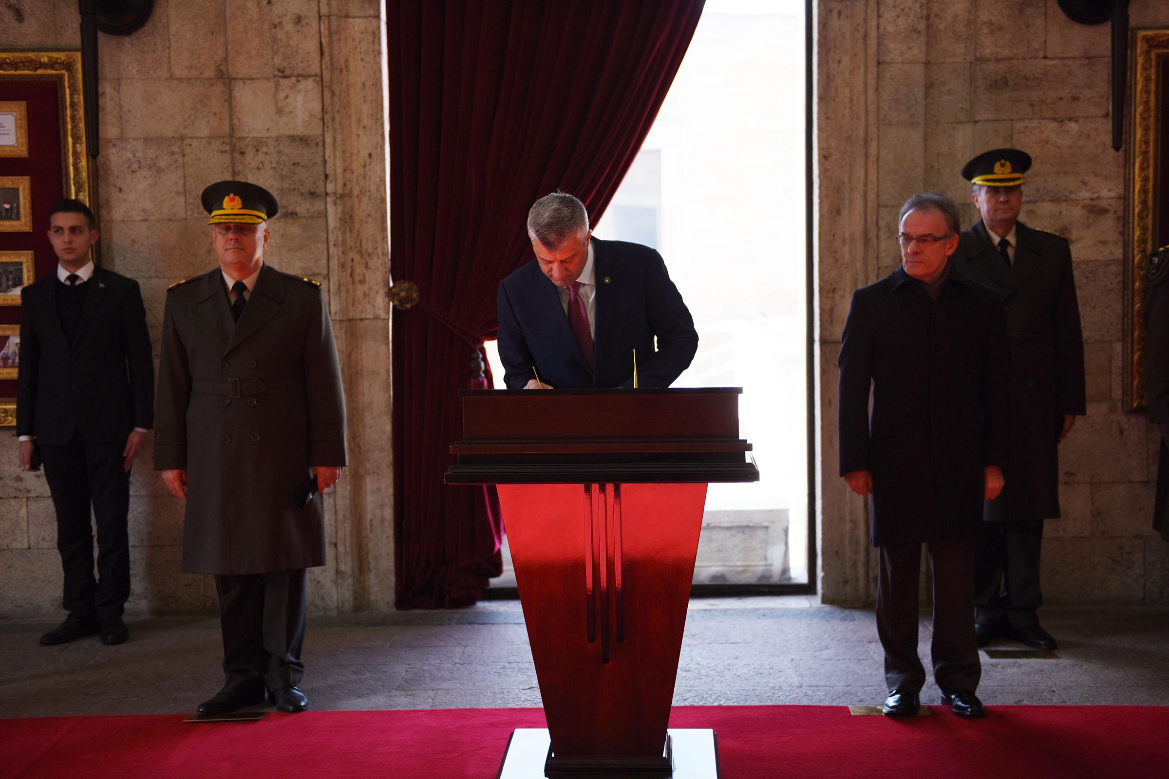 Presidenti Thaçi në Ankara, vlerëson bashkëpunimin strategjik me Turqinë