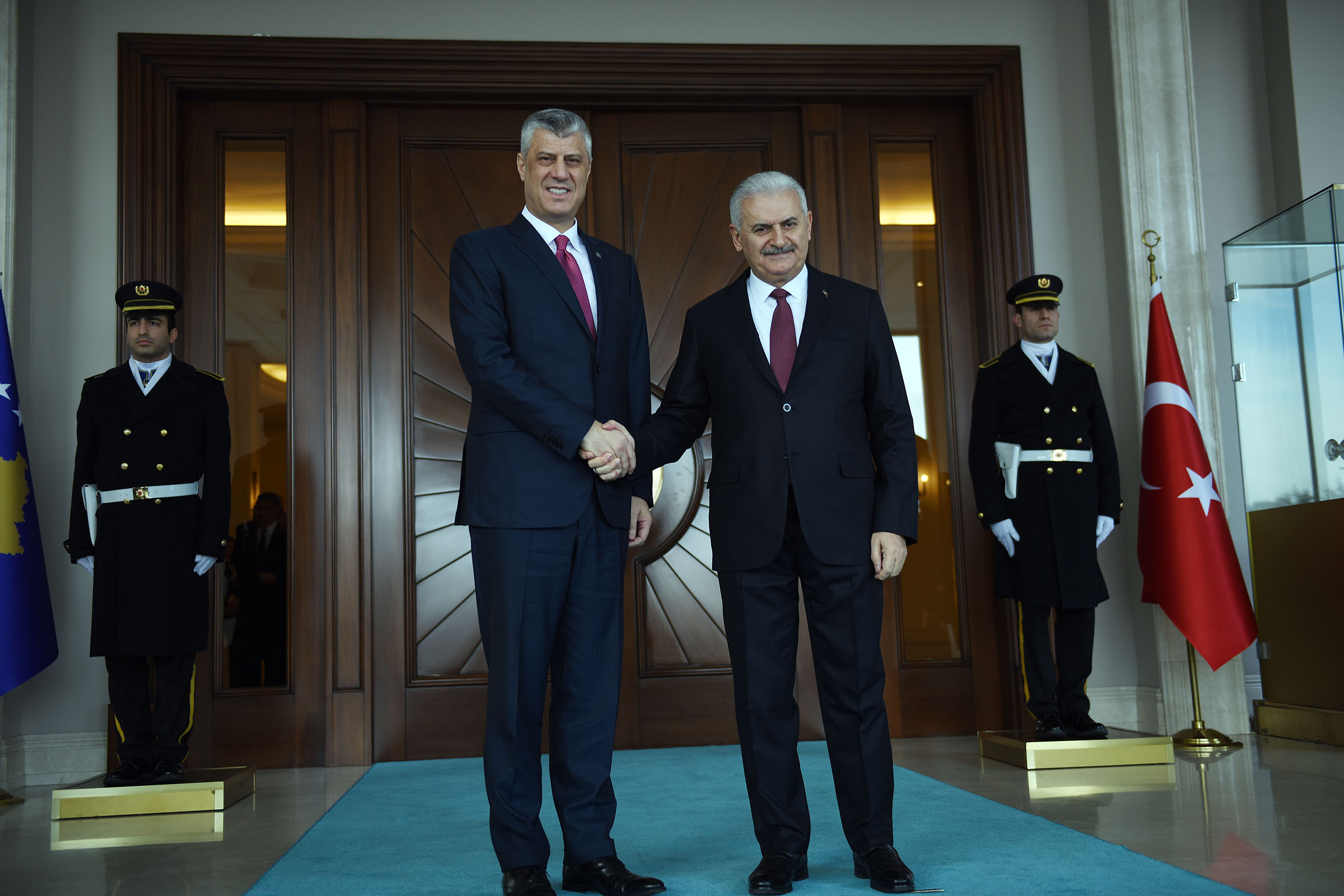 President Thaçi in Ankara, assesses the strategic cooperation with Turkey