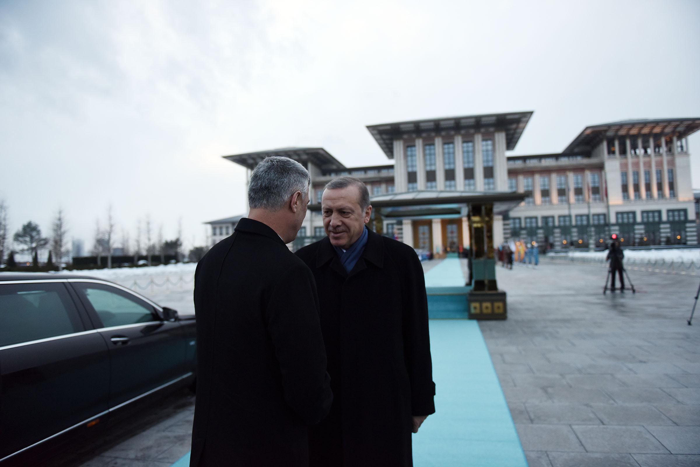 Predsednik Thaçi: Zahvalnost na podršci Turske u teška i dobra vremena