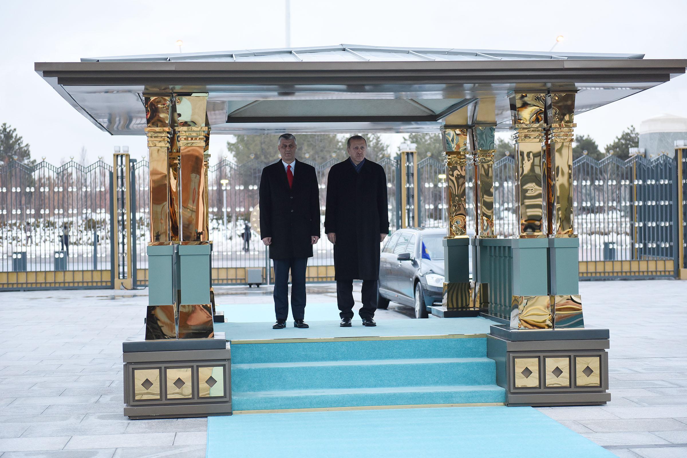 Presidenti Thaçi: Mirënjohje për përkrahjen e Turqisë, në kohë të vështira dhe të mira