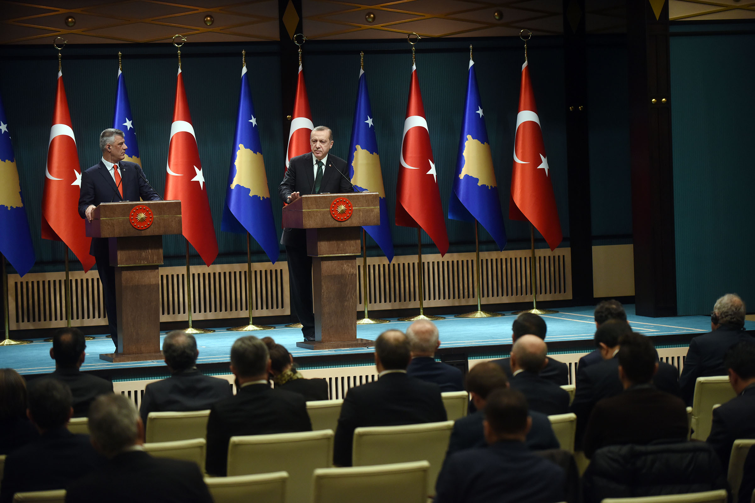 President Thaçi: Gratitude for Turkey's support in both good and bad times