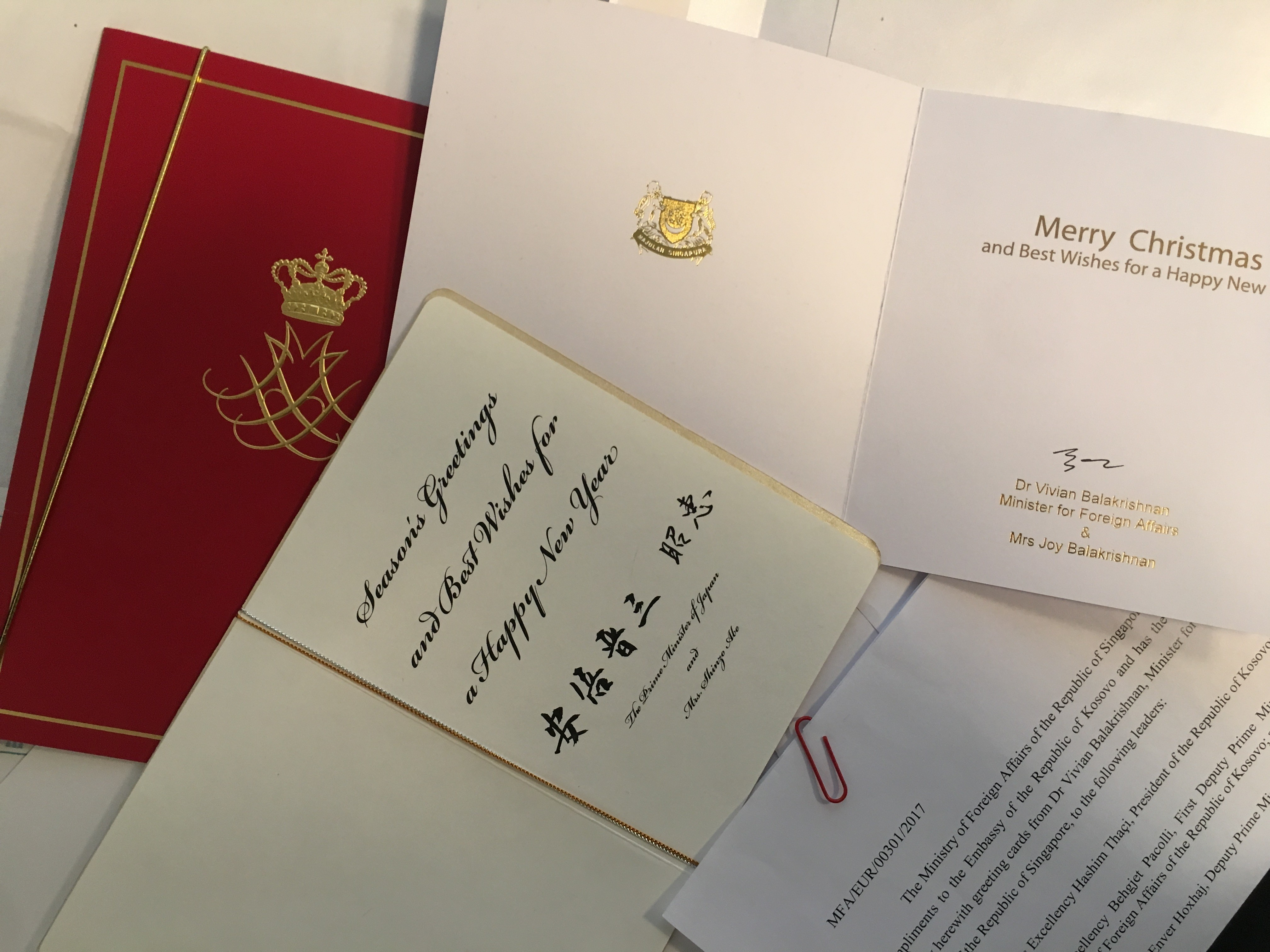 The Queen Of Denmark And The Prime Minister Of Japan Congratulate