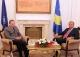 Presidenti Pacolli u takua me komandantin e KFOR-it, gjeneralin Erhard Buhler