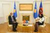 U.d. Presidentja takon Ambasadorin e Turqisë