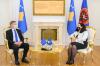 U.d. Presidentja Osmani priti në takim shefin e Misionit të EULEX-it në Kosovë Lars-Gunnar Wigemark