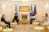 U.d. Presidentja Osmani priti në takim ambasadoren e Finlandës, Pia Stjernvall