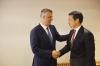Presidenti Thaçi takoi zëvendësndihmësin e Sekretarit amerikan të Shtetit, Hoyt Yee