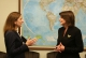 President Jahjaga met with the Vice President of MCC, Beth Tritter