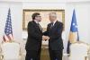 Predsednik Thaçi dočekao posebnog predstavnika SAD-a Metjua Palmera