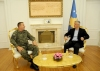 The President met the KSF Commander following the visits of the US Deputy Assistant Secretary and the British Minister