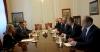 Presidenti Thaçi takon presidentin Pahor, falënderon për organizimin e Samitit Brdo-Brione