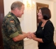 Predsednica  Jahjaga je primila na oproštajni susret komandanta e KFOR-a,  generala Erharda Buhlera