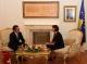Predsednica Jahjaga je primila na oproštajni susret ambasadora Švajcarske na Kosovu, Lucasa Berlingera