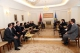 The Acting President of the Republic of Kosovo Dr. Jakup Krasniqi receives a delegation from the Constitutional Court of Albania