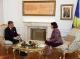 Predsednica  Jahjaga je primila g-dina Bjorna von Sydowa