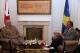 Predsednik Pacolli je docekao Šefa Generalštaba Britanske Vojske, Generala Sir Peter Wall