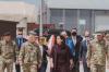"""Presidentja Osmani ka vizituar kampin e ushtrisë amerikane """"Bondsteel"""""""