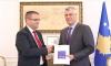 Presidenti Thaçi dhe guvernatori Mehmeti flasin për punën e BQK-së