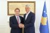 Presidenti Thaçi priti në takim lamtumirës ambasadorin jo-rezident të Kanadasë, Daniel Maksymiuk