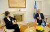 Predsednik Thaçi sastao se sa bivšom predsednicom Švajcarske Konfederacije, Micheline Calmy-Rey