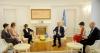 Presidenti Thaçi takoi ish-Presidenten e Konfederatës së Zvicrës, Micheline Calmy-Rey