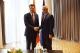 Presidenti Thaçi takoi liderin e opozitës në Shqipëri, Lulzim Basha