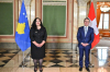 Acting President Vjosa Osmani has concluded the two-day visit in Switzerland