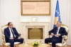 President Thaçi received the staff of the Financial Intelligence Unit of Kosovo