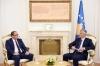 Presidenti Thaçi priti stafin e Njësisë së Inteligjencës Financiare të Kosovës