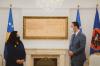 U.d. Presidenti Glauk Konjufca ia dorëzoi detyrën Presidentes Vjosa Osmani
