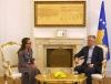 Presidenti Thaçi priti shefen e re të UNDP-së në Kosovë