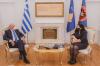 President Osmani received the Foreign Minister of Greece, Nikos Dendias