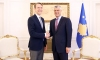 President Thaçi received  the Swedish Ambassador at a farewell meeting