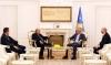 Presidenti Thaçi priti në takim lamtumirës Nuncin Apostolik për Kosovë, Monsignor Juliusz Janusz