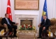The Acting President of the Republic of Kosovo Dr. Jakup Krasniqi receives the Prime Minister of Turkey Recep Tayip Erdogan