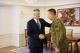 """Predsednik Thaçi dočekao je tim BSK-a koji je osvojio zlatnu medalju na takmičenju""""Cambrian Patrol"""" u Velikoj Britaniji"""