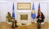 VD predsednica Osmani odlikovala je Predsedničkom vojnom medaljom bivšeg komandanta KFOR-a, general-majora Michele Rissi