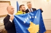 President Thaçi handed over the Flag of Kosovo to the Olympic Team solemnly