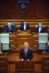 Fjalimi i presidentit Thaçi në Kuvendin e Kosovës për nëntëvjetorin e Pavarësisë së Kosovës