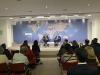 """Presidenti Thaçi në """"Chatham House"""": Koha për të reflektuar për dialogun"""