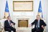 Presidenti Thaçi priti raportuesin e BE-së për Kosovën