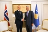 President Thaçi today the credentials of the new Norwegian Ambassador to Kosovo