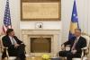 Presidenti Thaçi dhe drejtori Palmer flasin për rëndësinë e dialogut