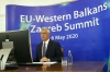 President Thaçi at the Zagreb Summit asks for a decision on visa liberalisation and candidate status
