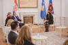 Presidentja Osmani priti në takim ministrin kroat për punë të Jashtme dhe Çështje Evropiane Gordan Grlić Radman 5